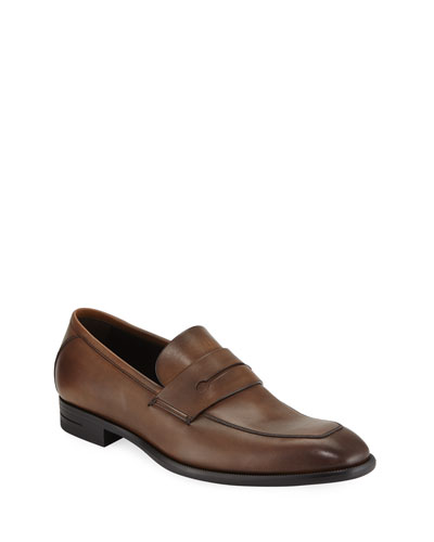Men's New Flex Leather Penny Loafer