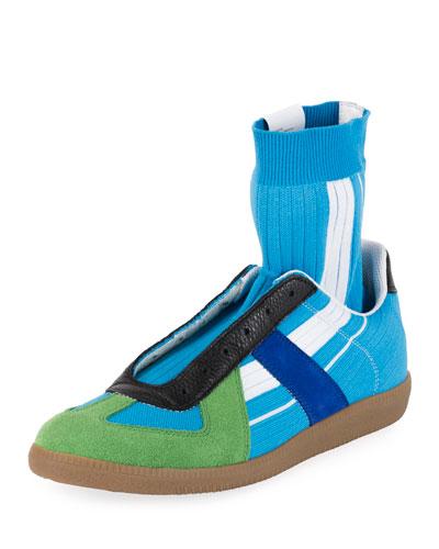 Men's Replica Sock High-Top Sneakers