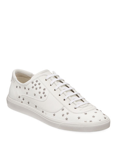 Men's Andy Star-Stitched Low-Top Sneakers
