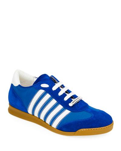 Men's Canvas & Suede Sneaker
