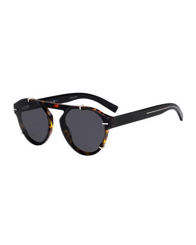 Men's Round Clipped Optyl® Sunglasses