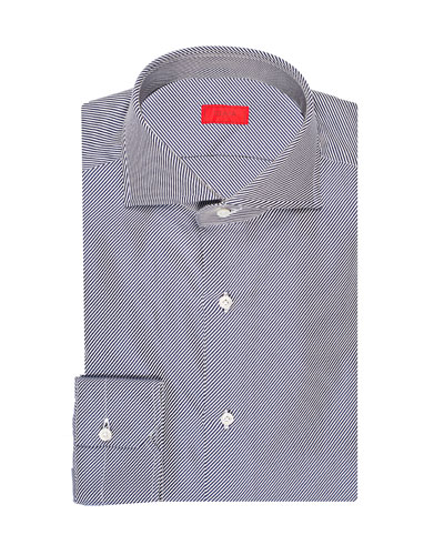 Men's Twill Stripe Cotton Dress Shirt