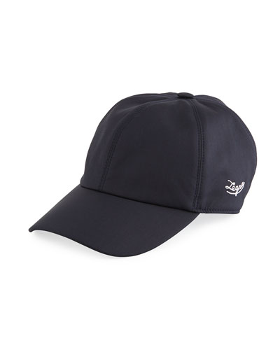 Ermenegildo Zegna Men's Leggerissimo Wool/Silk Baseball Cap