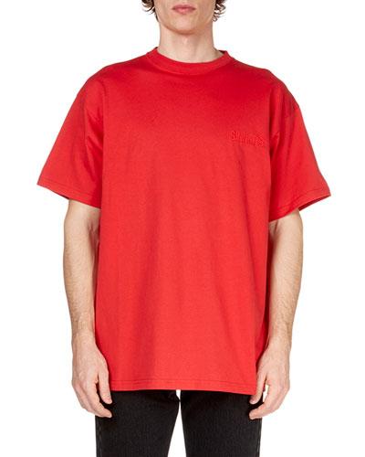Men's Sinners Crewneck Jersey T-Shirt