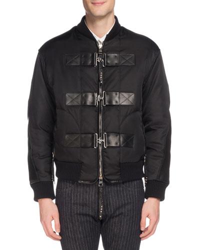 e42816b7650c Men s Cabah Buckle-Strap Jacket Quick Look. Alexander McQueen