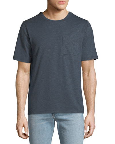 Men's Single-Pocket Crewneck T-Shirt