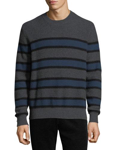 3da98066bdf19 Men s Crewneck Striped Cashmere Sweater Quick Look. Vince