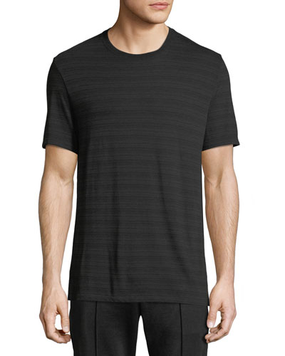 Men's Tonal-Striped Crewneck Short-Sleeve T-Shirt