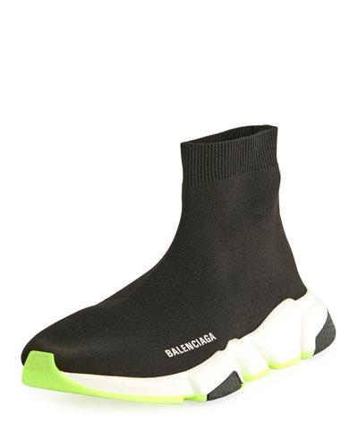 38321d58021a Men s Stretch-Knit Speed Sneaker Quick Look. Balenciaga