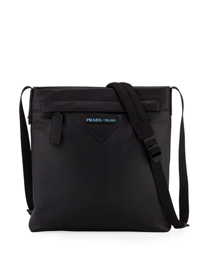 9c3f8505beba Men s Large Smooth Leather Crossbody Bag Quick Look. Prada