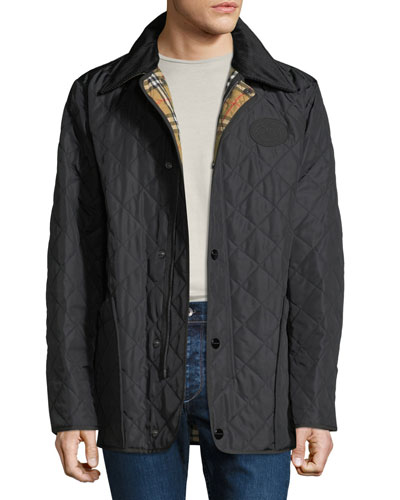 Men's Cotswold Signature Check-Lining Jacket