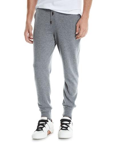 Men's Heathered Jogger Pants