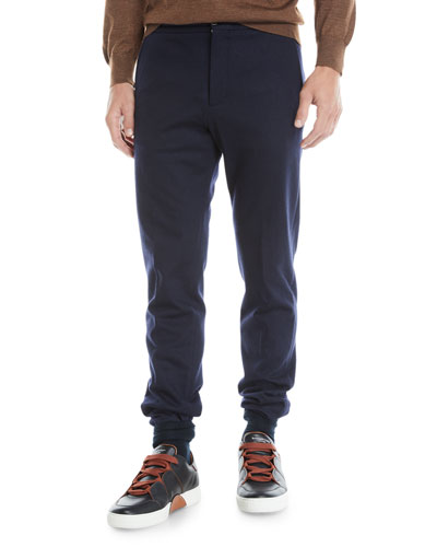 Men's Drawstring Flannel Pants