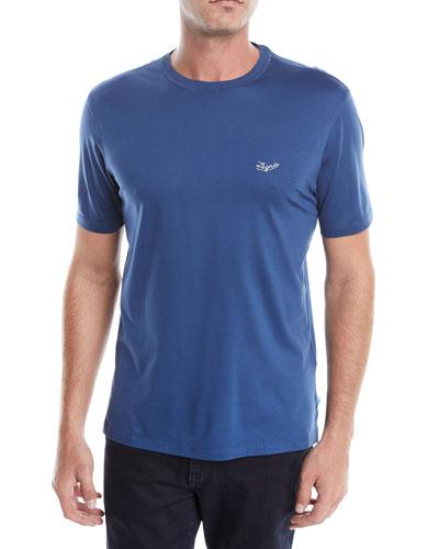 7602d6ba Crewneck Logo Tshirt | bergdorfgoodman.com