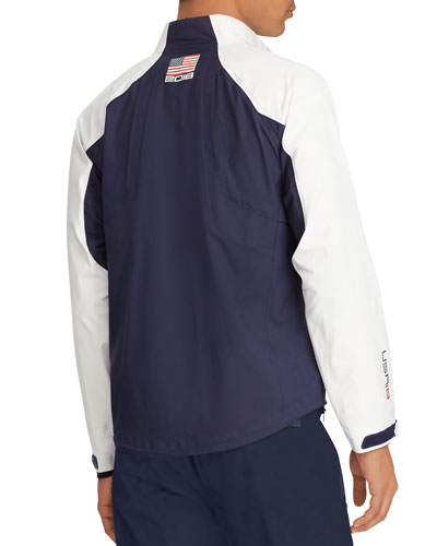 Ralph Lauren Men's USA Ryder Cup Golf Rain