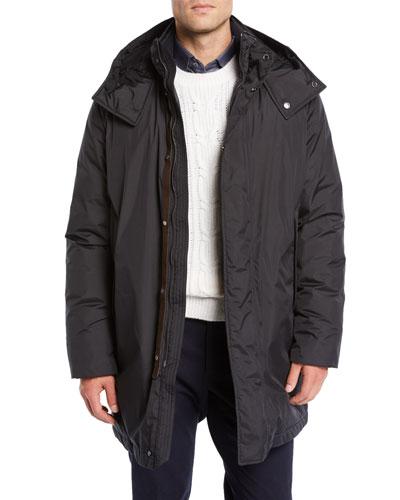Men's Microfiber Down Puffer Coat