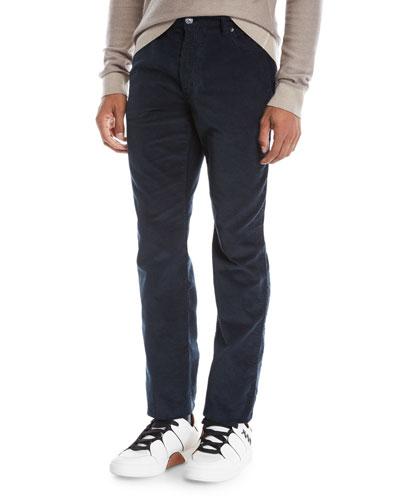 Men's Wide-Wale Corduroy Pants, Navy