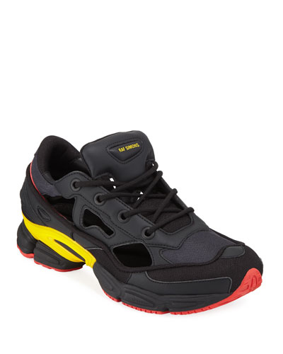 new concept 395b9 66d88 Men s Ozweego Replicant Trainer Sneakers, Belgium National Day Quick Look.  adidas by Raf Simons