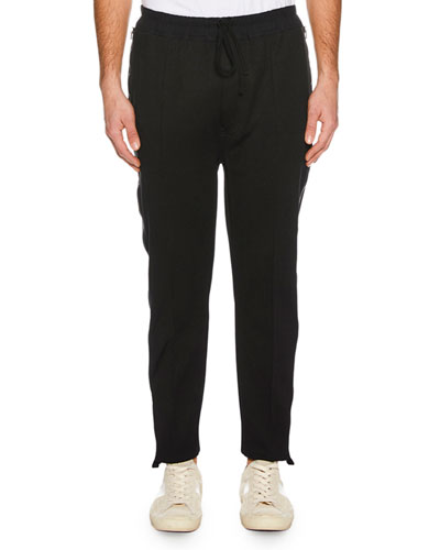 Men's Side-Zip Jogger Pants