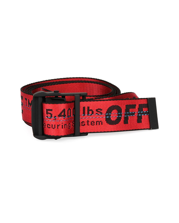 Men's Industrial Logo-Web Belt