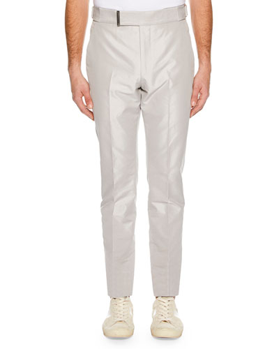 Men's Atticus Flat-Front Trousers