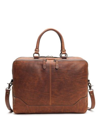 Men's Logan Leather Work Bag