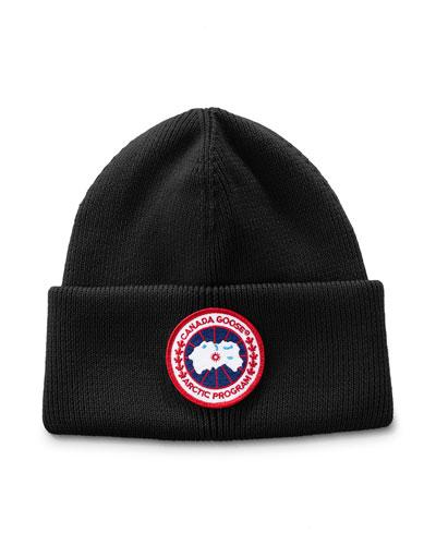 Men's Arctic Disc Toque Knit Beanie Hat