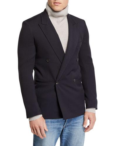 Men's Julian Hopsack Double-Breasted Jacket