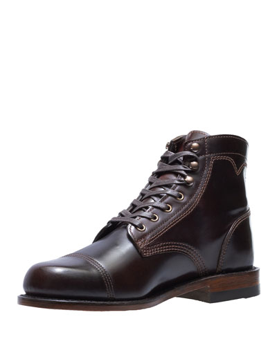 Men's Shell Leather Boots