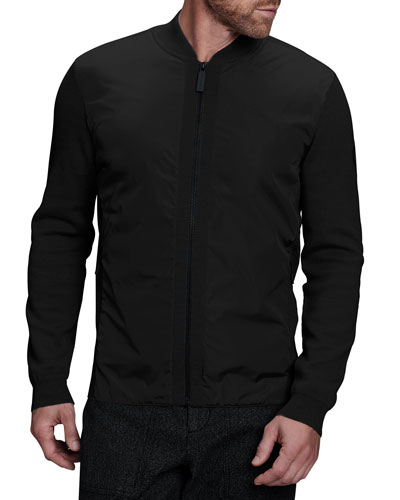 Men's Wingbridge Zip-Front Sweater