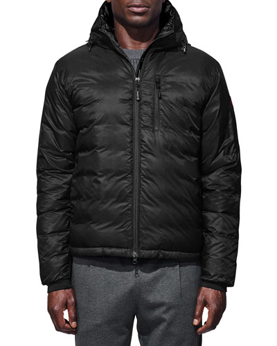 Men's Lodge Quilted Fusion-Fit Hoodie Jacket
