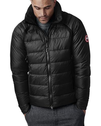 Men's HyBridge Hooded Down Puffer Base Jacket