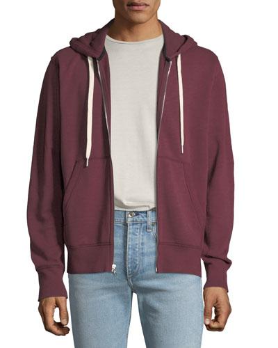 Men's Trooper Front-Zip Jersey Hoodie