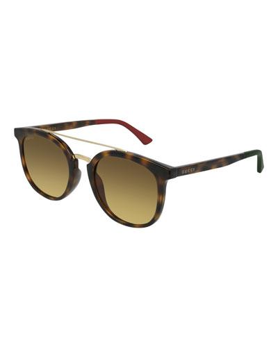 Men's GG0403SA003M Injection Sunglasses