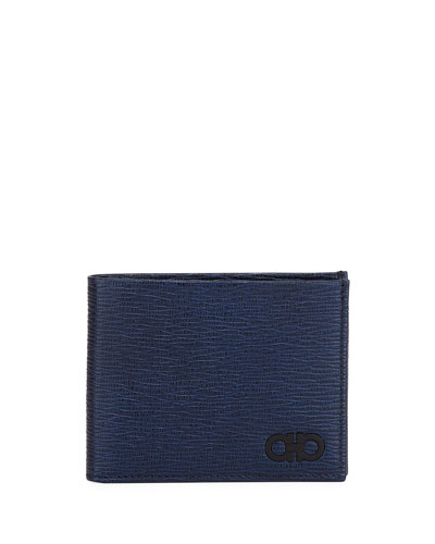 Men's Revival Gancini Bi-Fold Leather Wallet