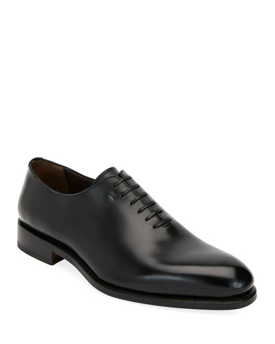 Men's Amsterdam Calfskin Lace-Up Shoes