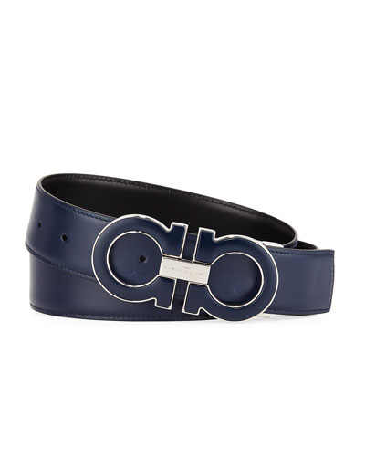 Men's Smooth Calf Reversible Leather Belt