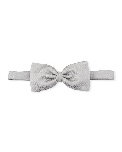 Men's Textured Silk Bow Tie