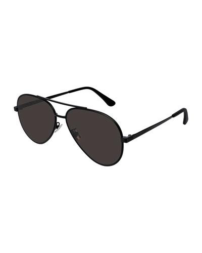 Men's Classic Metal Aviator Sunglasses