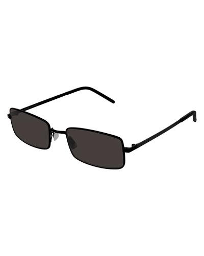 Men's Round Metal Sunglasses
