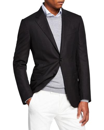 Men's Cool Effect Wool Blazer