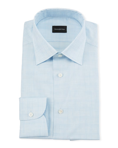 Men's Heathered Giza Dress Shirt