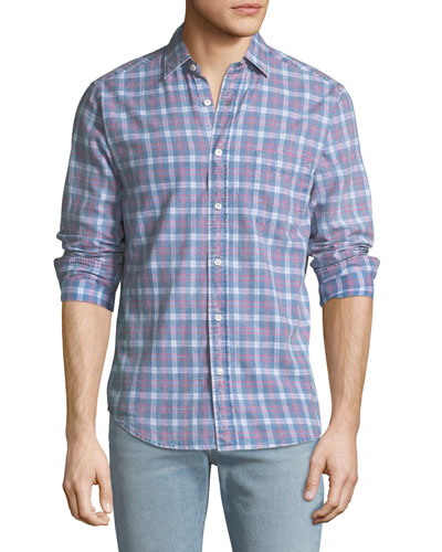 Men's Pacific Plaid Sport Shirt