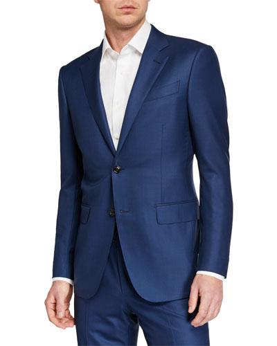 Men's 15milmil15 Two-Piece Tonal Striped Regular-Fit Suit