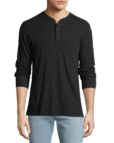 Men's Standard Issue Henley Shirt