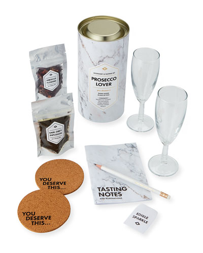 Men's Society Prosecco Lover's Accessory & Tasting Gift