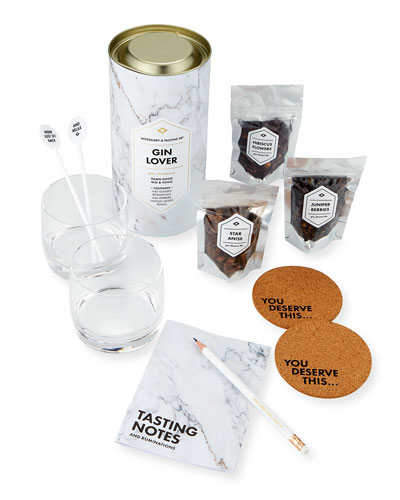 Men's Society Gin Lover's Accessory & Tasting Gift