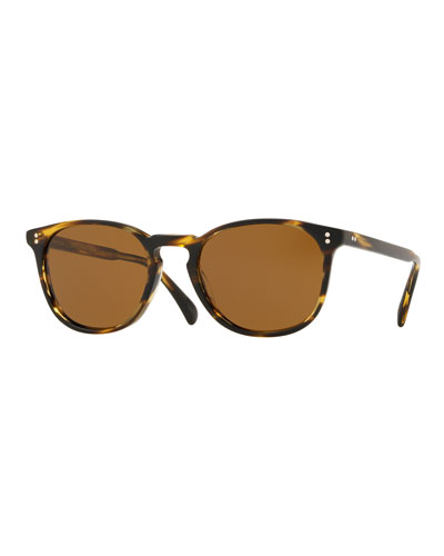 Men's Finley Esq. Universal-Fit Round Sunglasses
