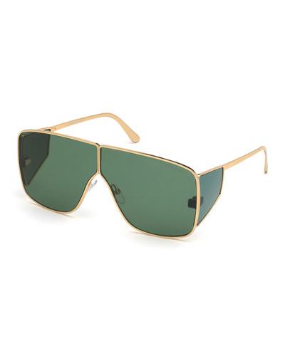 2299ddbbd65 Men s Spector Metal Shield Sunglasses Quick Look. TOM FORD