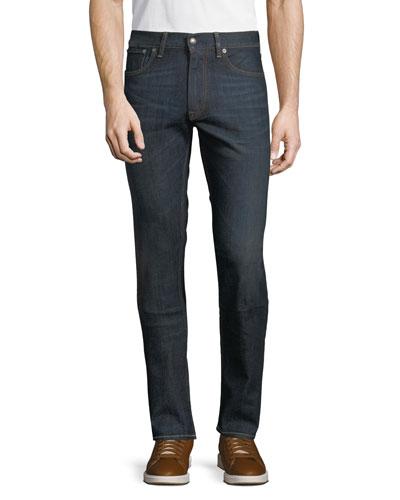Men's Straight Denim Jeans
